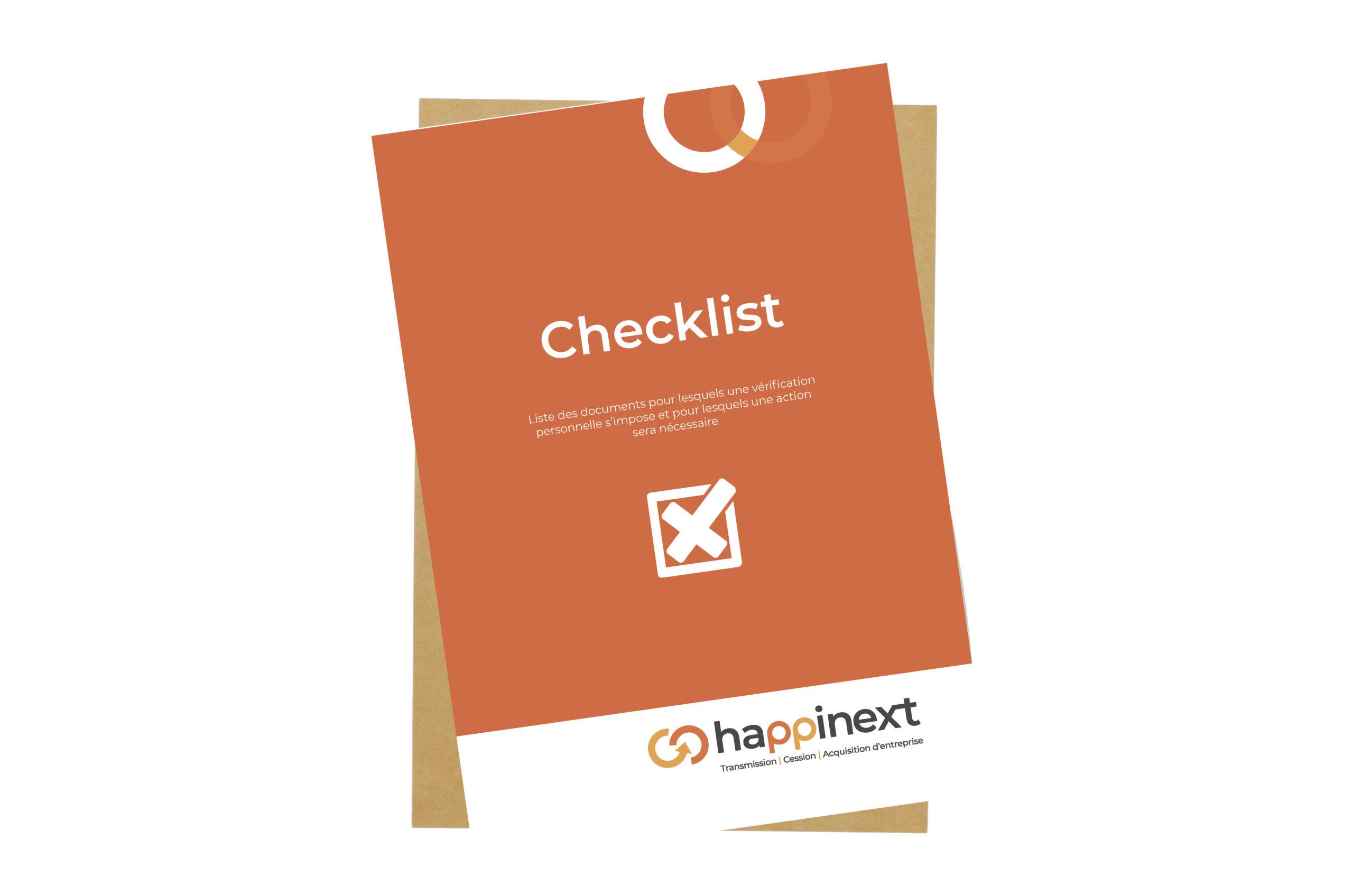 Checklist du dossier permanent à constituer